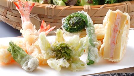 天ぷら食べ尽くし(春野菜)縦②