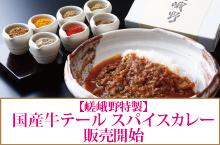 【嵯峨野特製】国産牛テール スパイスカレー